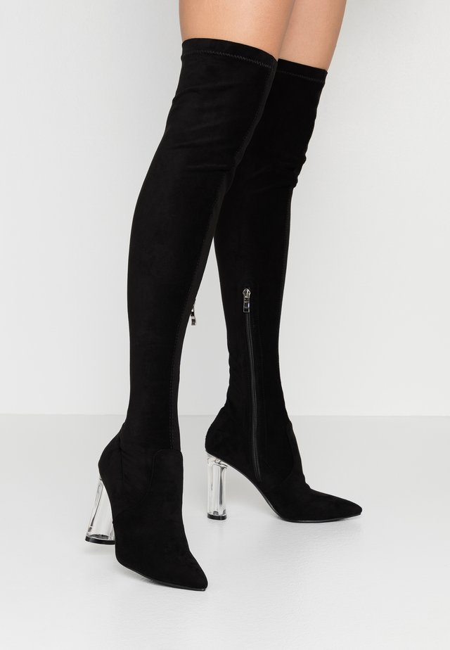 DEIDRE - High heeled boots - black