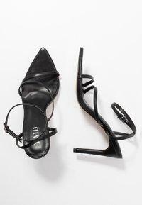 RAID - ROSIE - Sandaler med høye hæler - black - 3