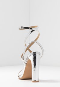 RAID - OPRAH - Sandaler med høye hæler - silver metallic - 5
