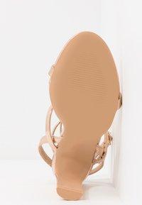 RAID - OPRAH - Sandály na vysokém podpatku - rose gold metallic - 6