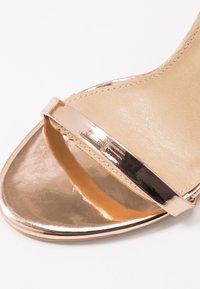 RAID - OPRAH - Sandály na vysokém podpatku - rose gold metallic - 2