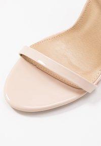 RAID - OPRAH - Sandalen met hoge hak - nude - 2