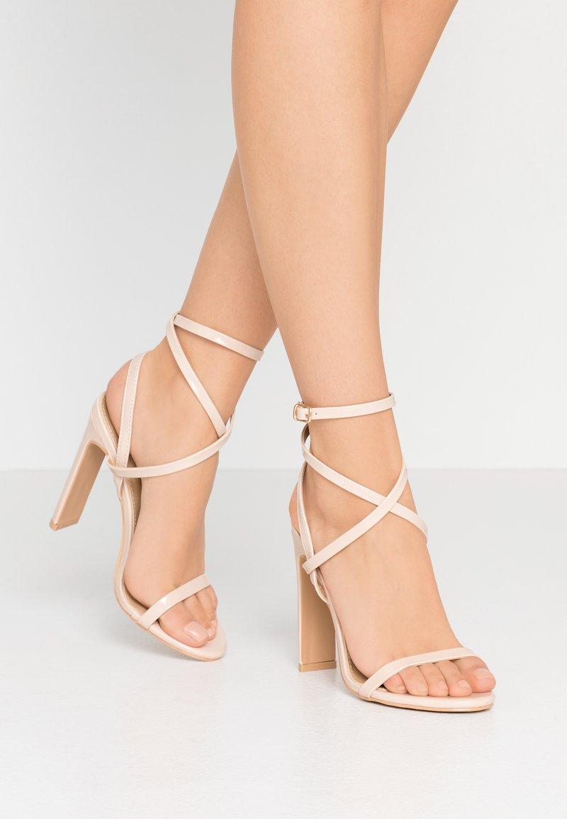 RAID - OPRAH - Sandalen met hoge hak - nude