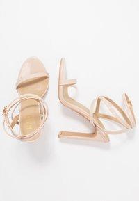 RAID - OPRAH - Sandalen met hoge hak - nude - 3