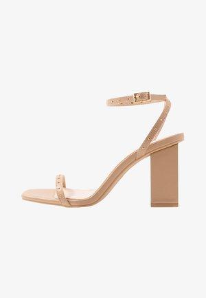 ANIELA - Sandaler med høye hæler - nude