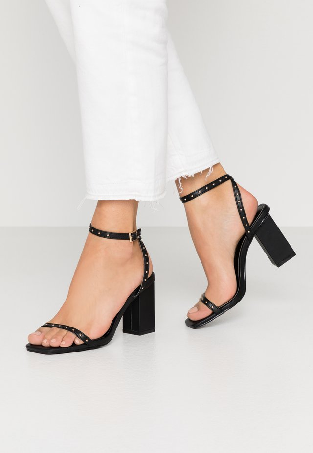 ANIELA - High heeled sandals - black