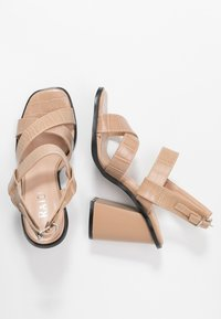 RAID - QUEENIE - Sandales à talons hauts - nude - 3