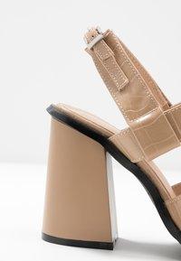 RAID - QUEENIE - Sandales à talons hauts - nude - 2