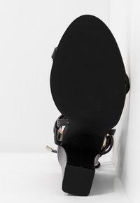 RAID - TERESA - Sandales à talons hauts - black - 6