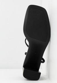 RAID - DONNA - Sandalias de tacón - black - 6