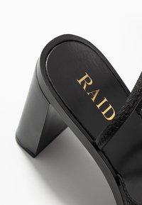 RAID - DONNA - Sandalias de tacón - black - 2