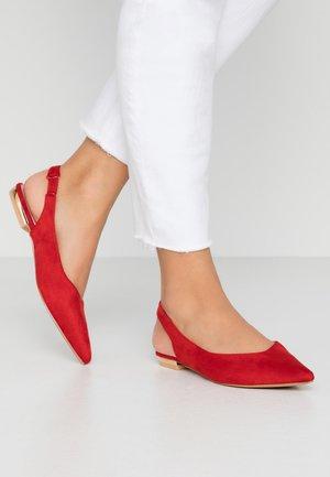 BLAKE - Ballerines - red