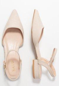 RAID - MYLAH - Ankle strap ballet pumps - nude - 3