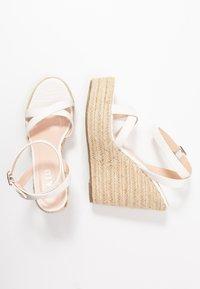 RAID - ELISHA - Sandaler med høye hæler - white - 1