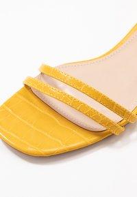 RAID - EVAN - Sandals - mustard - 2