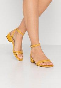 RAID - EVAN - Sandals - mustard - 0
