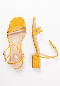 RAID - EVAN - Sandals - mustard - 3