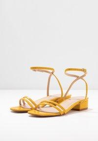 RAID - EVAN - Sandals - mustard - 4
