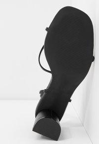 RAID - LENNY - Sandaalit nilkkaremmillä - black - 6