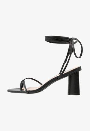 LENNY - Sandals - black