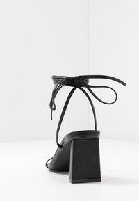 RAID - LENNY - Sandaalit nilkkaremmillä - black - 5