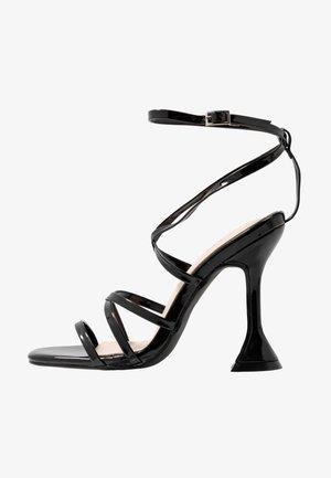 MADRONA - Sandály na vysokém podpatku - black