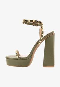 RAID - ODINAH - Sandaler med høye hæler - sage green - 1