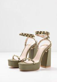 RAID - ODINAH - Sandaler med høye hæler - sage green - 4