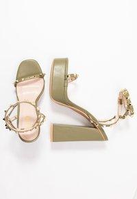 RAID - ODINAH - Sandaler med høye hæler - sage green - 3
