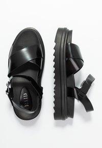 RAID - CARMEN - Platform sandals - black - 3
