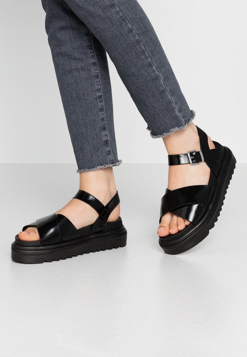 RAID - CARMEN - Platform sandals - black