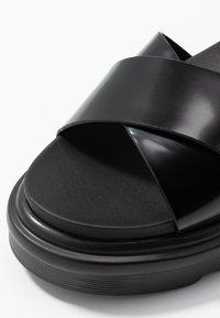 RAID - CARMEN - Platform sandals - black - 2