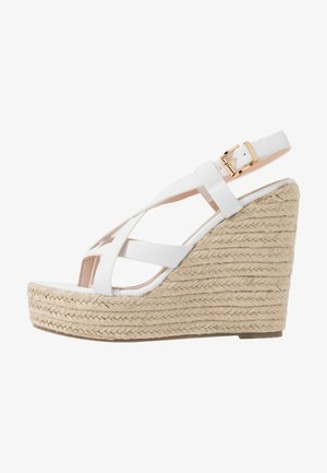 ROCIO - Sandály na vysokém podpatku - white
