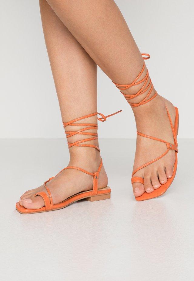 ADAZE - Zehentrenner - orange