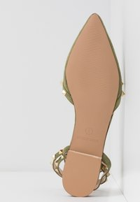 RAID - LAURENA - Ankle strap ballet pumps - sage green - 6