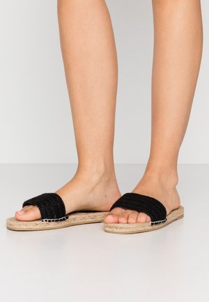 DAMIEN - Pantofle - black