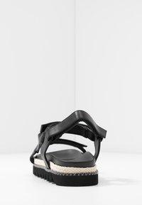 RAID - SONNIE - Sandaalit nilkkaremmillä - black - 5