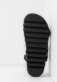 RAID - SONNIE - Sandaalit nilkkaremmillä - black - 6