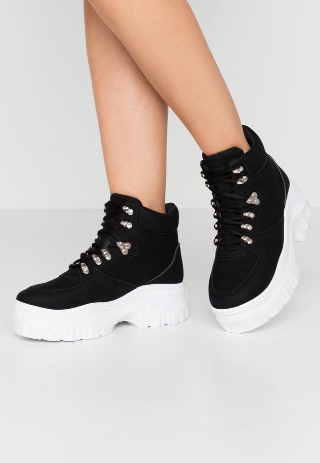 ROPER - Sneakers hoog - black