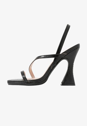 MALLORY - Korolliset sandaalit - black