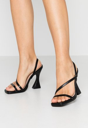MALLORY - High heeled sandals - black