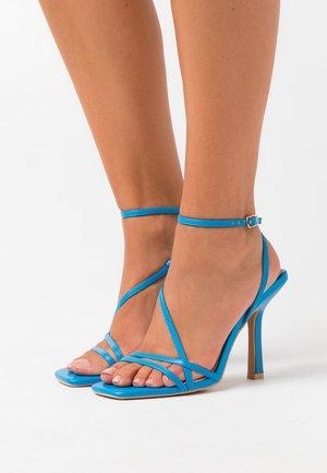 RUPA - Sandalias de tacón - blue