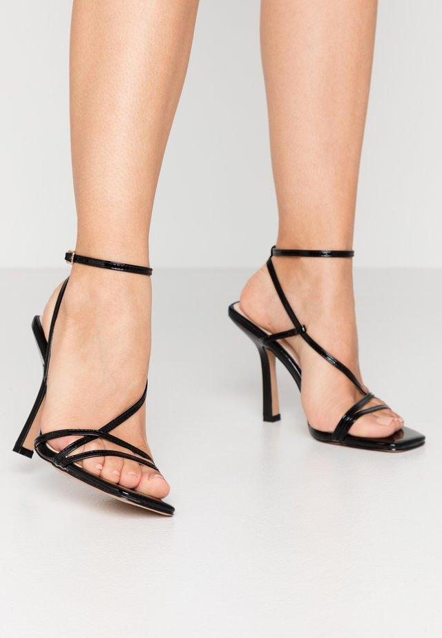 RUPA - High heeled sandals - black