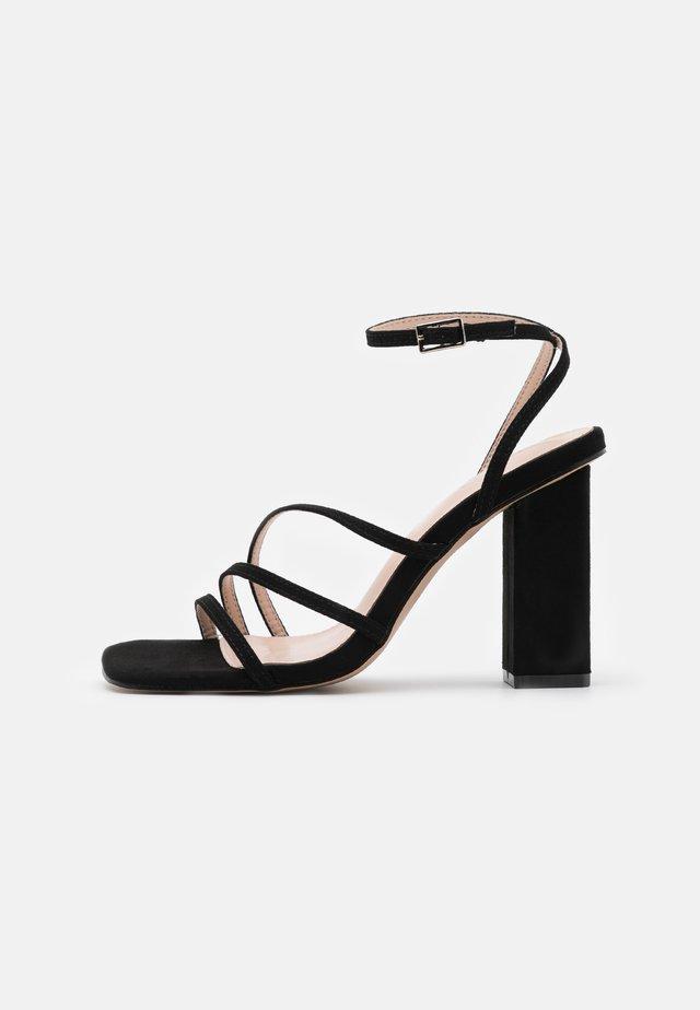 ANALEA - Sandaler med høye hæler - black