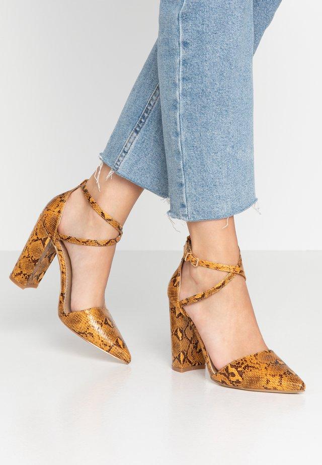 KATY - High heels - yellow