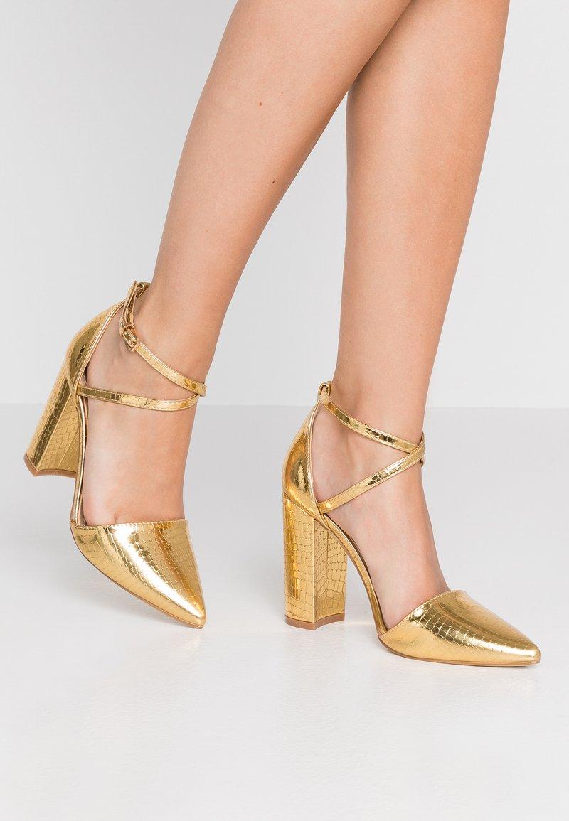 RAID - KATY - Zapatos altos - gold