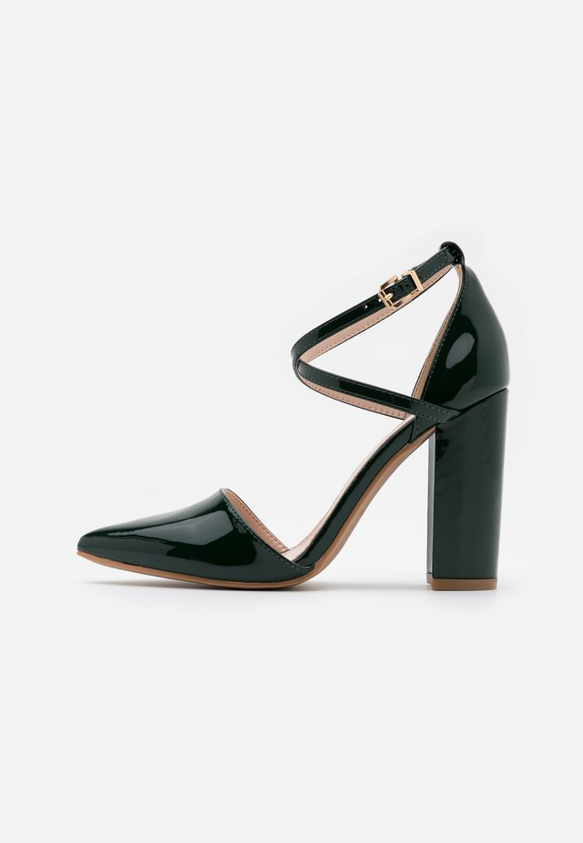 KATY - High heels - dark green