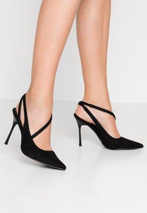 JANESSA - Lodičky na vysokém podpatku - black