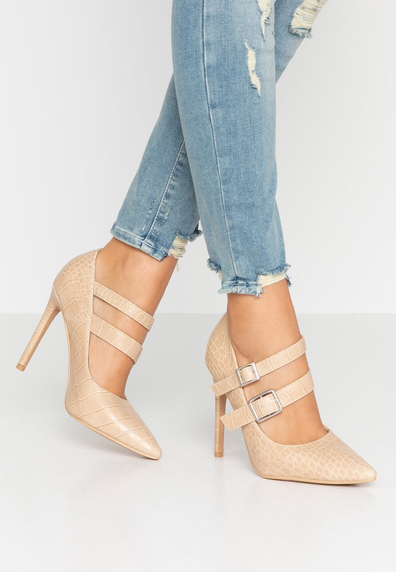 RAID - TENLEY - Zapatos altos - cream