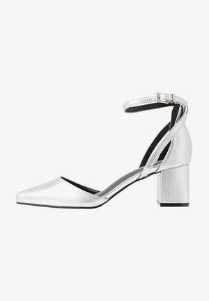 HAZY - Klassieke pumps - silver crinkle